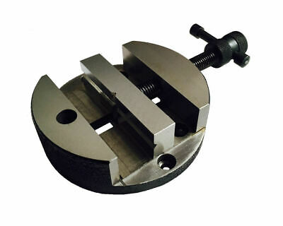 Rdgtools 100mm / 4  Round Vice For Vertical Slide Rotary Table Vice • 29.95£