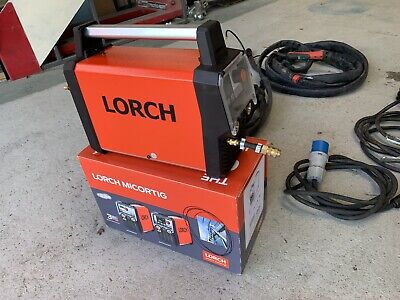 Lorch Micortig 200 Control Pro DC Tig, 110 / 230 Volt Or Battery Powered • 1,550£
