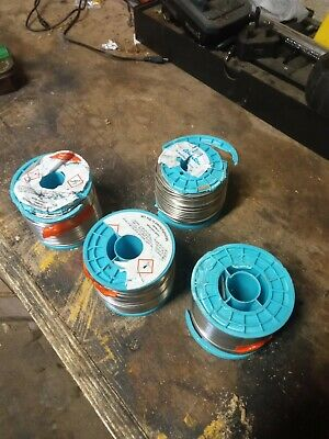 4x Rolls Of Solder Wire Just Over 1mm Thick • 25£