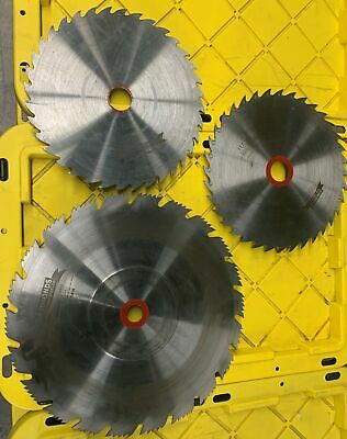 Simonds Saw Blades For Woodworking Machinery, Specs Unknown, Lot Fo 3 • 155.22£