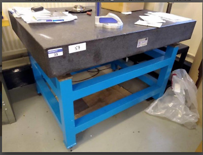 Surface Granite Inspection Table 1200mm X 900mm 880mm Tall Adjustable • 750£