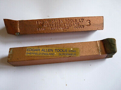Edgar Allen Stag Major Superweld Number 3 (new Old Stock) Lathe Cutting Tool • 10£