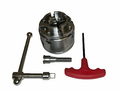 Rdgtools 3/4  X 16 Wood Lathe 4 Jaw Chuck 2-3/4  With Wood Screw Woodworking • 95£