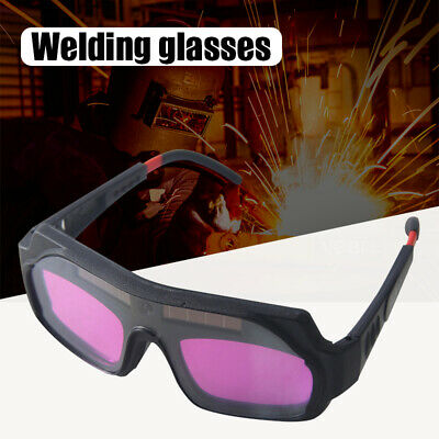 Solar Automatic Darkening Welding Goggles Safety Protective Glasses Anti-glare • 11.75£