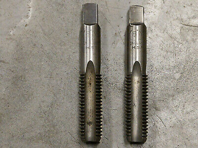 7/8 In X 9 UNC TAPS, 2 Off, USED • 10£