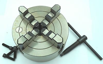 160 Mm 4 Jaw Independent Lathe  Chuck  (Ref: CH4160) From Chronos • 129.95£