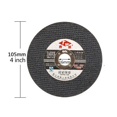 4  105mm Thin Resin Cutting Disc Cut Off Stainless Steel Metal For Angle Grinder • 1.68£