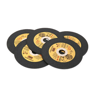 4  Resin Cutting Disc Metal Stainless Steel Cut Off Wheel For Angle Grinder 5Pcs • 5.89£