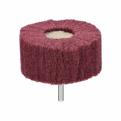 Abrasive Wheel 80mm X 40mm Buffing Polishing Wheel With 6mm Shank • 5.56£