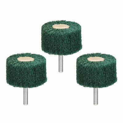 Abrasive Wheels 50mm X 30mm Buffing Polishing Wheels With 6mm Shank 3pcs • 5.33£