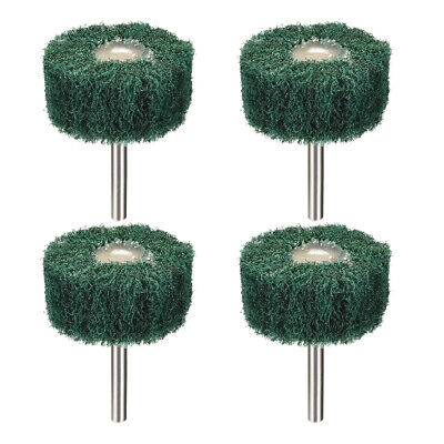 2 Inch Abrasive Wheel Buffing Polishing Wheel Green With 1/4 Inch Shank 4pcs • 8.77£
