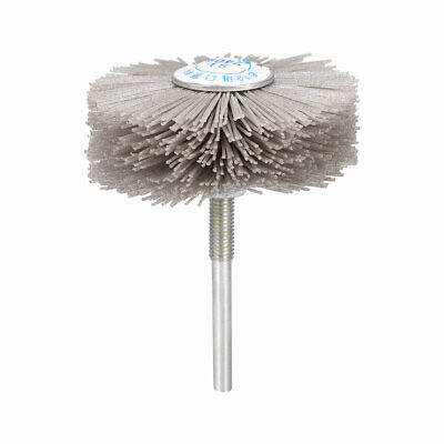Abrasive Nylon Wheel Brush 240 Grits With 1/4 Inch Shank For Polish Grinder • 6.10£