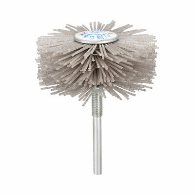 Abrasive Nylon Wheel Brush 80 Grits With 1/4 Inch Shank For Polish Grinder • 5.61£