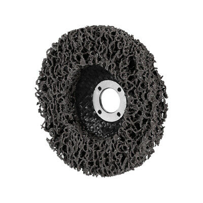 4 Inch Nylon Polishing Wheel Buffing Pad Felt Disc Black • 5.20£