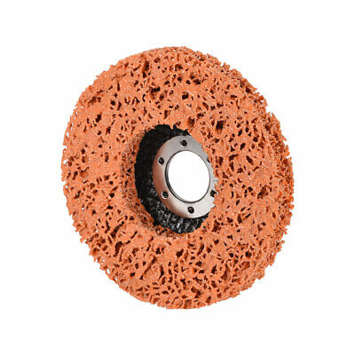 4.5 Inch Nylon Polishing Wheel Buffing Pad Felt Disc Orange • 8.14£