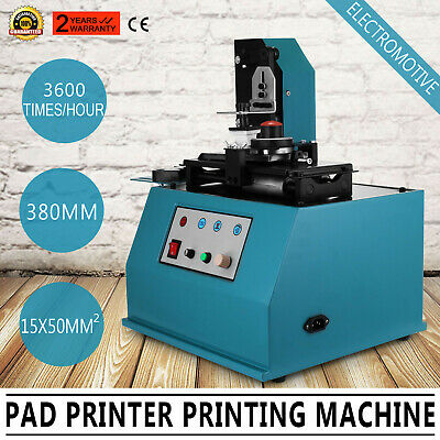 TDY-300 Pad Printer Date Logo Printing Machine Electrical Smooth Commercial • 169.92£
