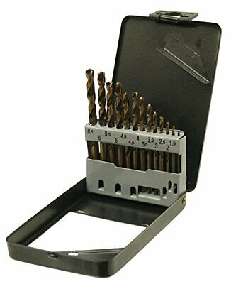 13pc HSS Metric Cobalt Drill Bit Set With Metal Storage Case • 19.99£