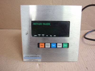 MODEL 8510-2001 Mettler Toledo Terminal Weigh Meter With Analog Option Interface • 586.69£