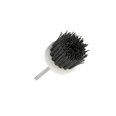 Nylon Wire Polishing Head Cup Wheel Brush Rust Remover For Rotary Tool 120~240# • 11.98£