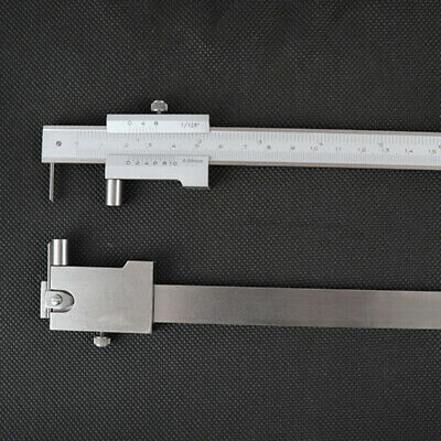 Quality 0-200mm Parallel Marking Vernier Caliper Gauge W/ 0.1mm Carbide Scriber • 15.69£