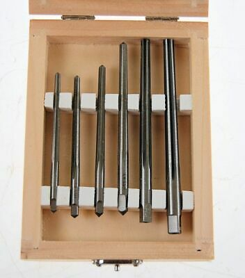 Set Of 6 HSS Taper Pin Reamers From Chronos • 34.95£