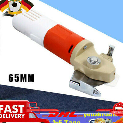 Round Electric Cloth Cutter 65mm Cutting Speed Machine Blade Fabric Leather Cut • 45.50£
