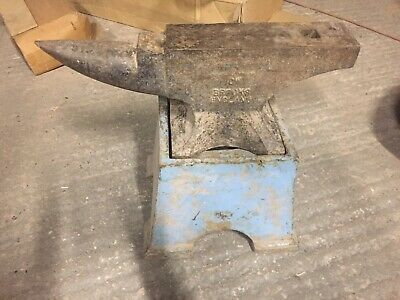 Brooks 1 Cwt Anvil And Stand 51kg Antique • 650£