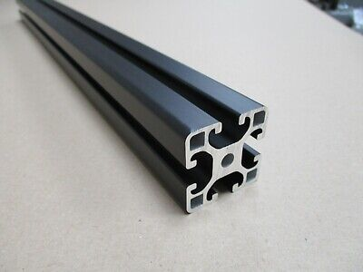 4040 Aluminium Profile Item Compatible With A 8mm T-slot Black Anodised • 24£
