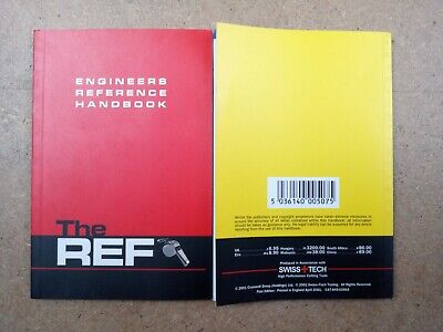 Engineers Reference Handbook The Ref Swiss Tech Cromwell Like Zeus • 7£