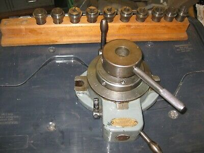 Marlco Collet Indexer With 10 Collets And Collet Rack • 35£