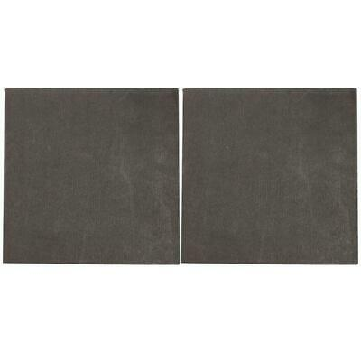 2pcs High Pure Carbon Graphite Sheet 100×100×2mm Electrode Plate Anode Panel  • 5.74£