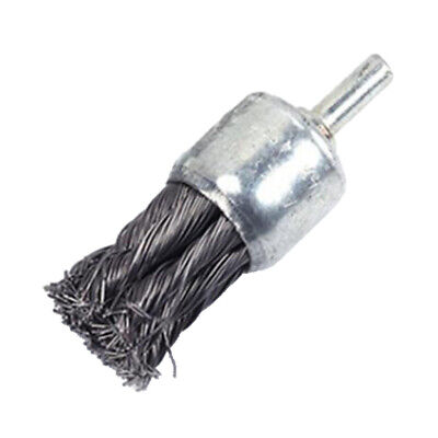 Knot Wire End Brush For Metal Surface Derusting, Grinding, Polishing 25mm • 4.17£