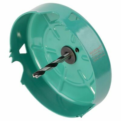 Wolfcraft Hole Saw 127mm Carbon Steel Turquoise Drill Accessory Tool 5973000 • 30.22£
