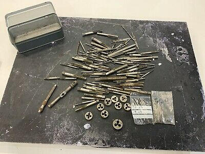 Bundle Mixed Old Taps And Dies Used And Unknown Condition • 10.50£