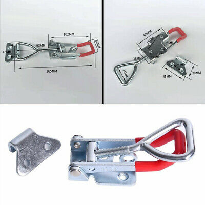 2X 300Kg Durable Triangle Shaped Lever Latch Heavy Duty Toggle Clamp Tools UK • 11.62£