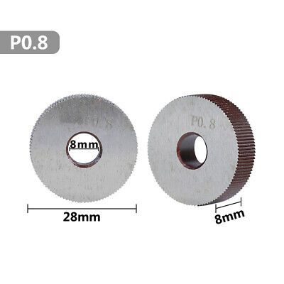 Knurling Tools Linear Steel Knurling Wheel 0.5mm-2.0mm Reliable Duable • 6.03£