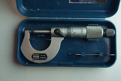 M&W 0-1 Inch Micrometer  • 28£