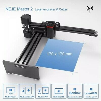 NEJE Master 7W- Engraver Wireless CNC For Wood Cutting Suit For Android Mac • 165.87£