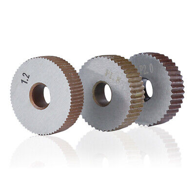 Knurling Tools Linear Knurling Wheel Metal 0.5mm-2.0mm Reliable Duable • 7.34£