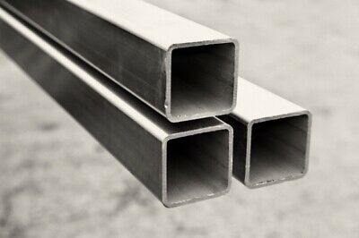 MILD STEEL BOX SECTION SQUARE 20mm To 50mm SIZES,LENGTHS FROM 300MM TO 1200MM • 10.50£