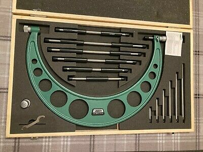 Unused Outside Micrometer; Insize 150-300mm With Setting Standards • 46.55£
