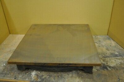 Windley Bro's Cast Iron Surface Plate 18  X 18  • 75£