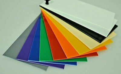 High Impact Polystyrene Sheet HIPS 1.5mm Thick Colours Vacuum Forming Material • 6.96£