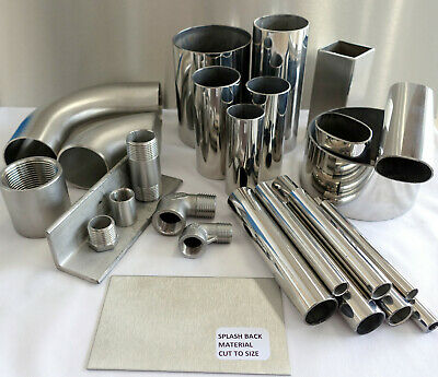Stainless Steel Round Tube -  High Quality 316 - Other Options Available • 14.03£