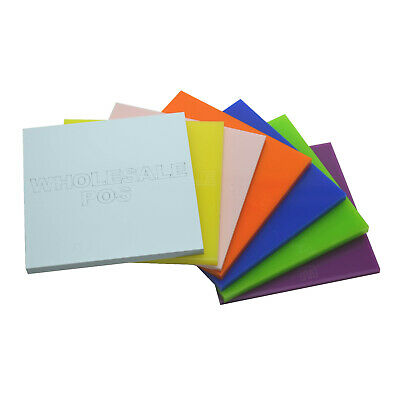 3mm Acrylic Samples Perspex® Plastic Cut To Size Sheet / 100+ Colours Available • 1.05£