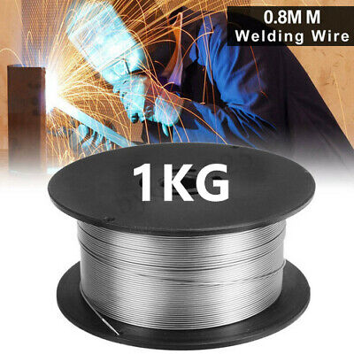 Pack Of Steel Gasless (Flux Cored) MIG Welding Wire - 0.8mm 1Kg No Gas Roll NEW • 8.99£