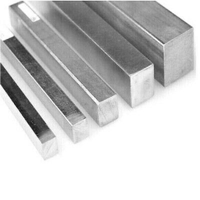 Stainless Steel Square Bar. Solid. 6mm -> 25mm Square. 304. 100mm -> 3 Metres. • 5.51£