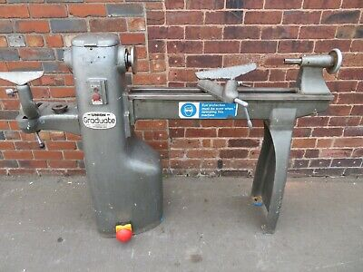 Union Graduate Wood Turning Lathe 3 Phase Ex College Excellent Condition • 1,200£