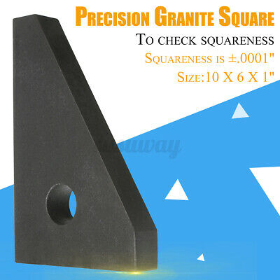 SURFACE ANGLE PLATE Cake Pans HHIP 4901-2705 10X6X1'' Precision Granite Square • 81.25£