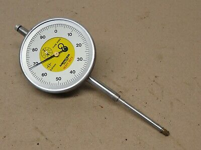 Mercer Type 259A Heavy Duty 50mm Travel (0.01mm) Dial Test Indicator Dti ME2977 • 60£
